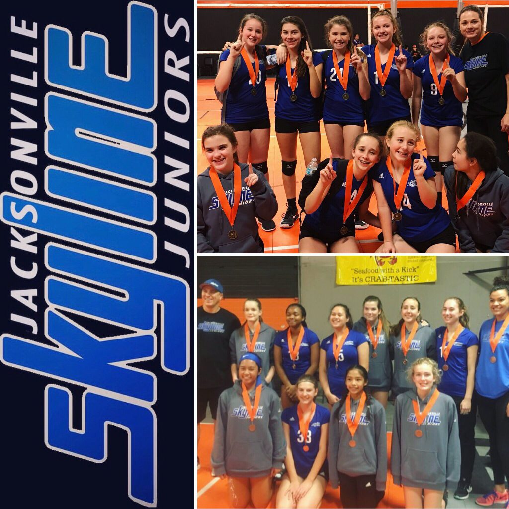 13 Royal And 15 Royal Have Successful Weekend Jacksonville Skyline Volleyball
