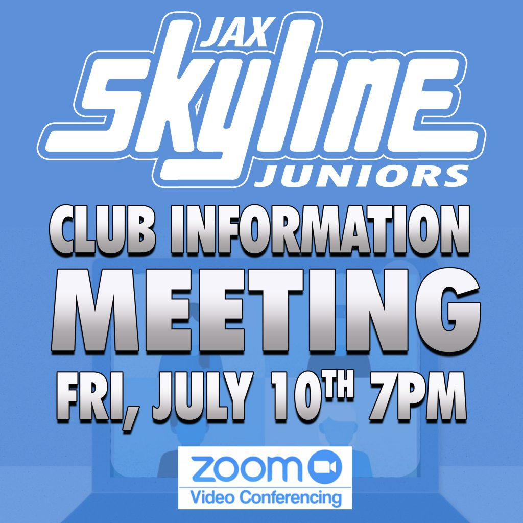 Zoom Club Info Virtual Meeting Jacksonville Skyline Volleyball
